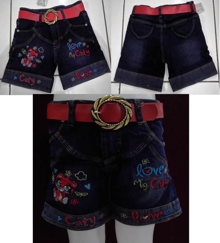 CLKD17 - Celana Jeans Pendek Anak My Caty Murah
