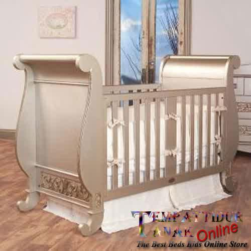 harga Box Bayi Ranjang Bayi Kayu Tempat Tidur Anak Set Gold Tokopedia.com