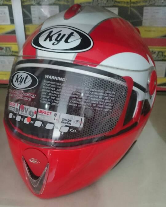 Jual Helm KYT X Rocket Merah Putih