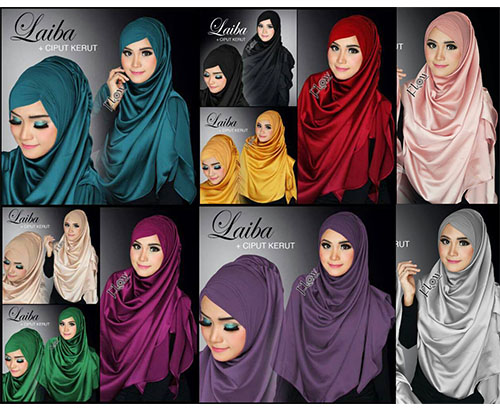 Hijab/Jilbab Instant Syria Laiba