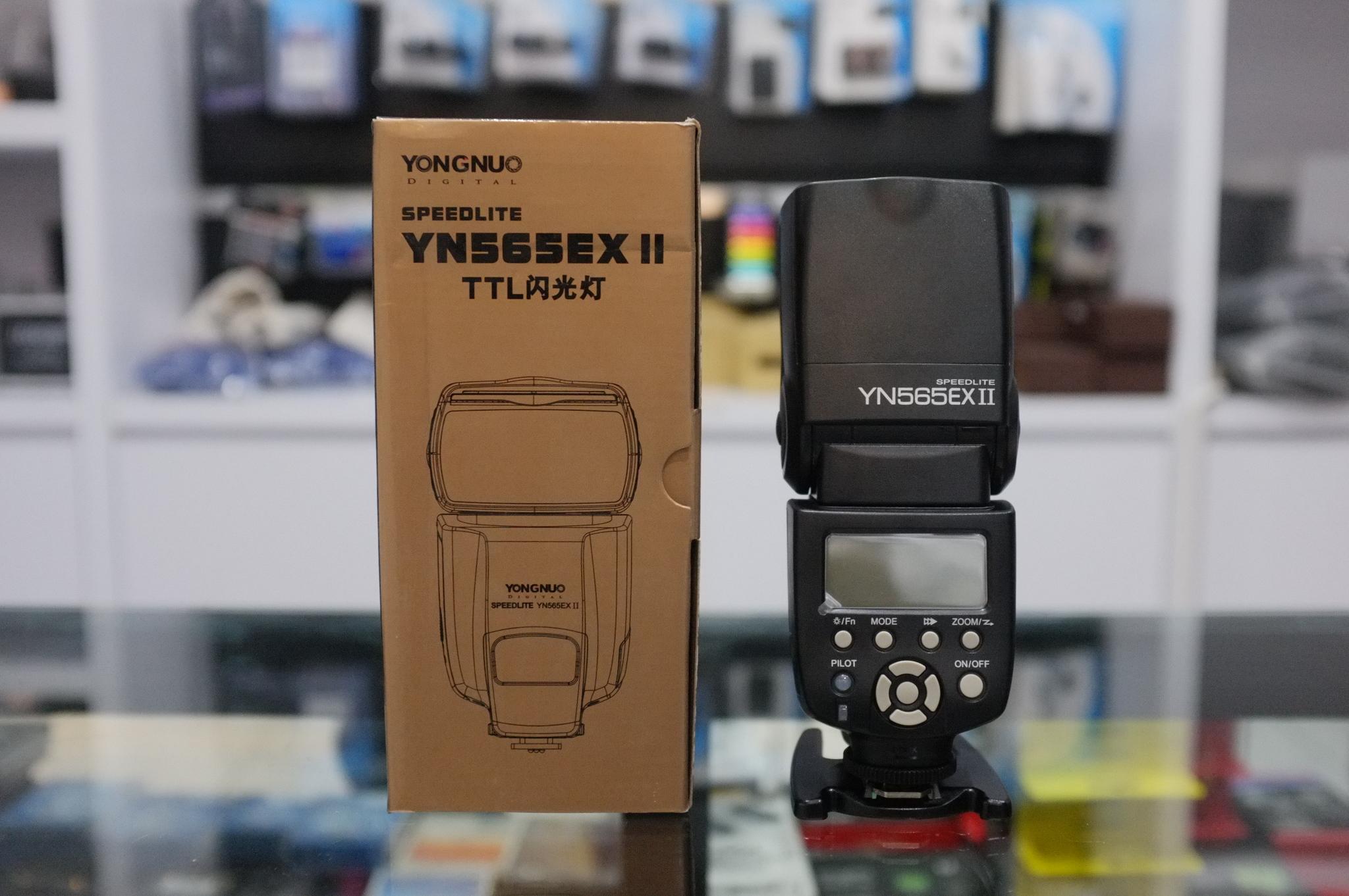 Jual Yongnuo Yn 565ex 565 Ex Ii Ttl Flash Untuk Dslr Nikon Lcd For Canon Genesis Camera Surabaya Tokopedia