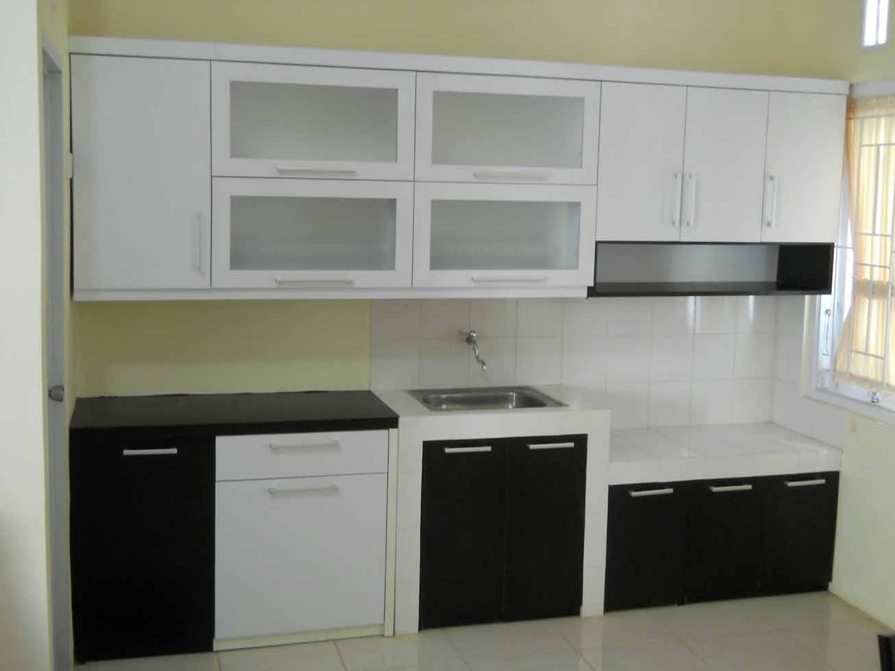 Desain Kitchen Set Bentuk Lurus Smallkitchenreview Co