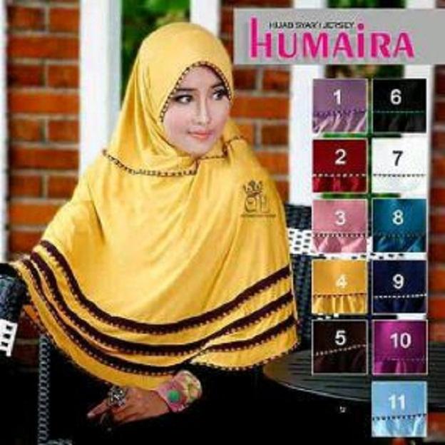 HUMAIRA hijab / kerudung Langsung / grosir kerudung