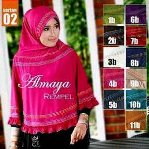Almaya hijab / kerudung Langsung / grosir kerudung