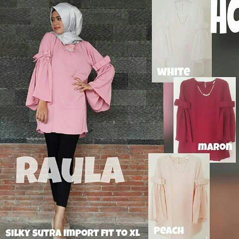 baju hijab wanita raula ( grosir baju muslim murah wanita )