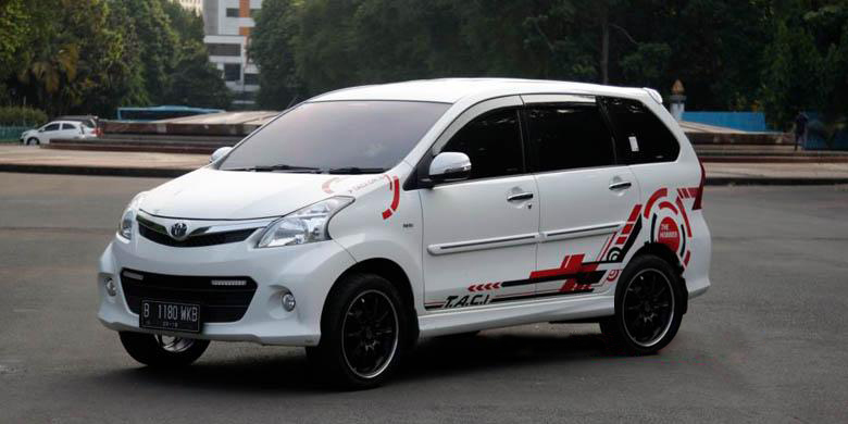 Car Series – Modif striping Daihatsu Ayla Black – 99 Jorge ...