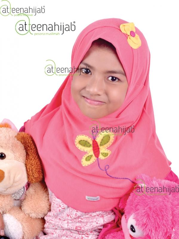 Atteenahijab jilbab anak instan kerudung hijab bergo syar'i baju anak