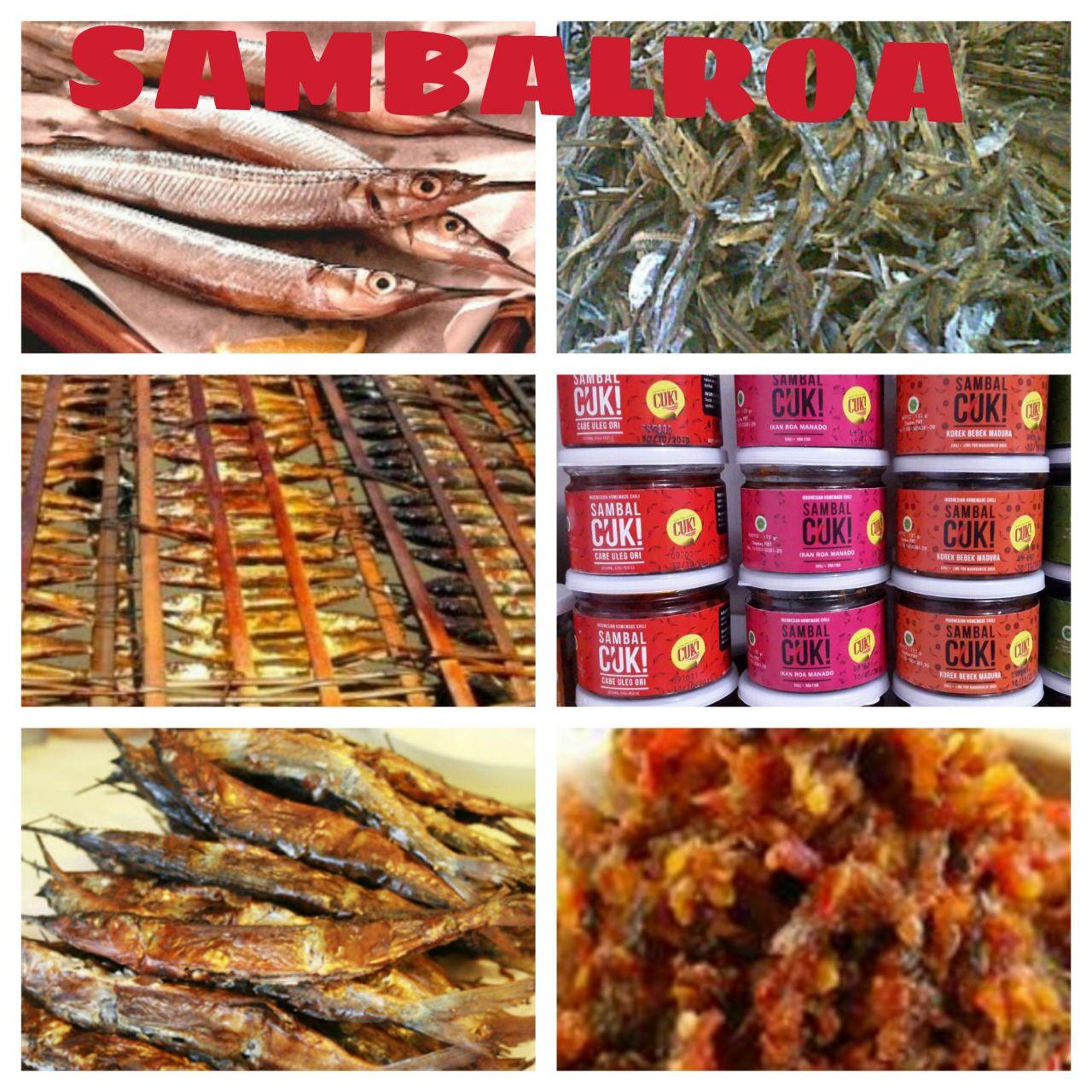 Jual sambal sambel iblis setan pedas mantab cuk bawang ikan ROA asin korek - RAEFADA | Tokopedia