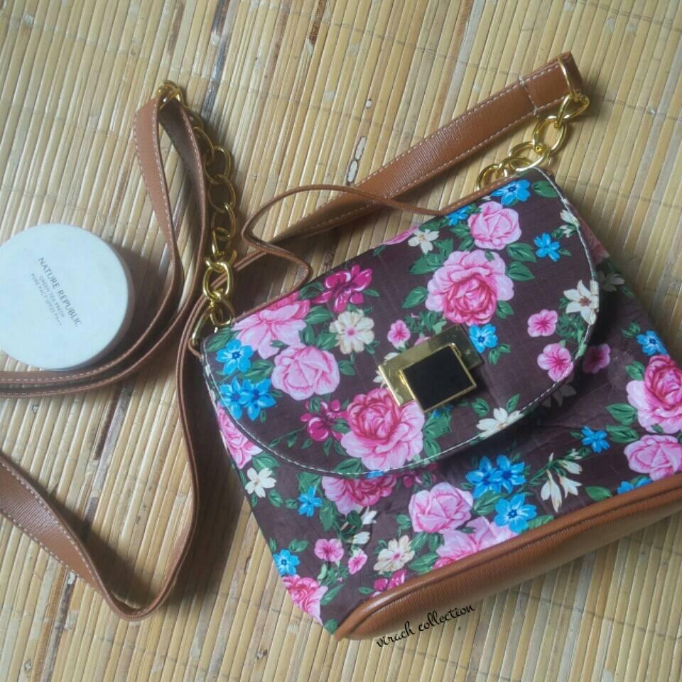 Sling bag tokopedia - Small Flower Slingbag Sling Bag