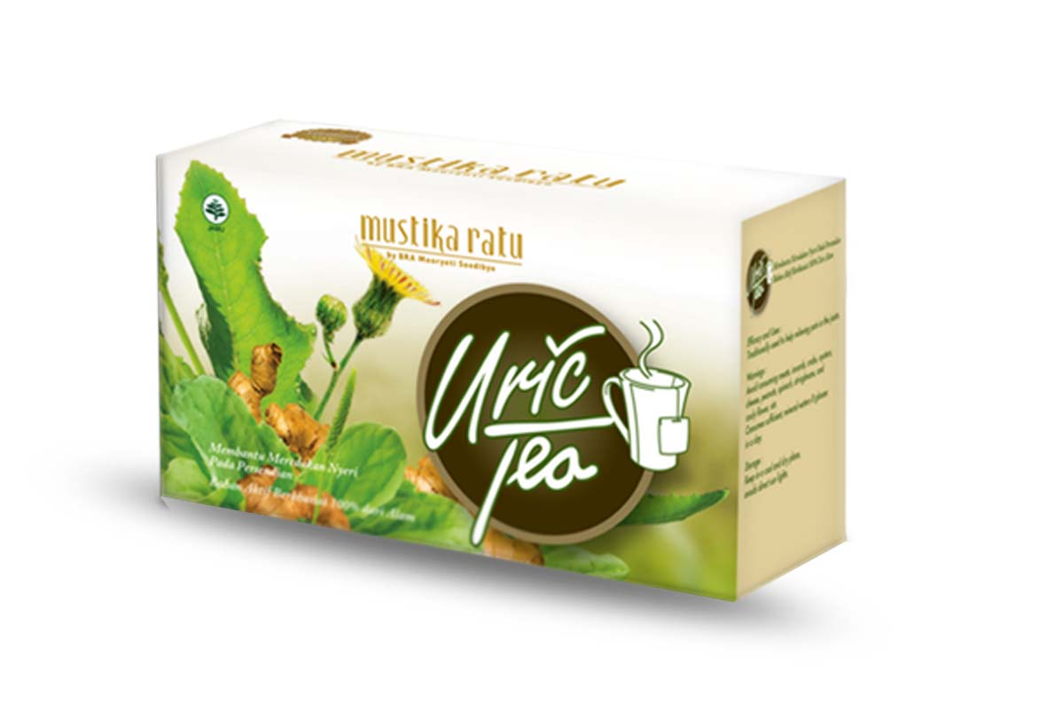 Jual Uric Tea Mustika Ratu - BIN MUHSIN GROUP | Tokopedia