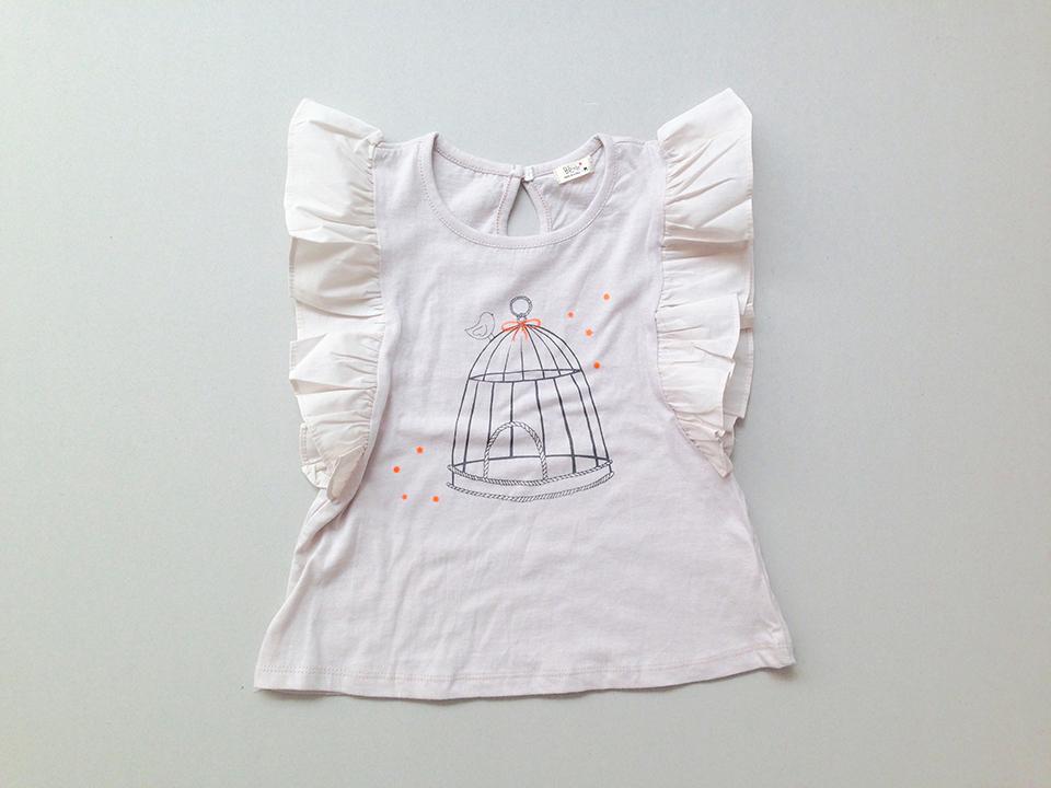 harga Kaus cantik gambar sangkar burung / Baju fashion anak impor Korea Tokopedia.com