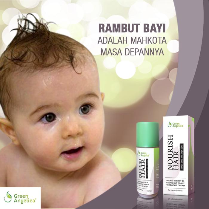 jual green angelica minyak kemiri, minyak penumbuh rambut alami Minyak Kemiri Penumbuh Rambut Bayi