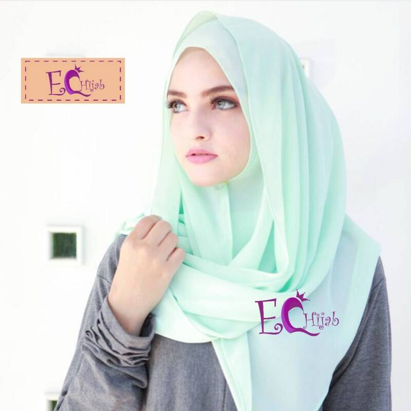 Hijab Pashmina Babydoll Georgette