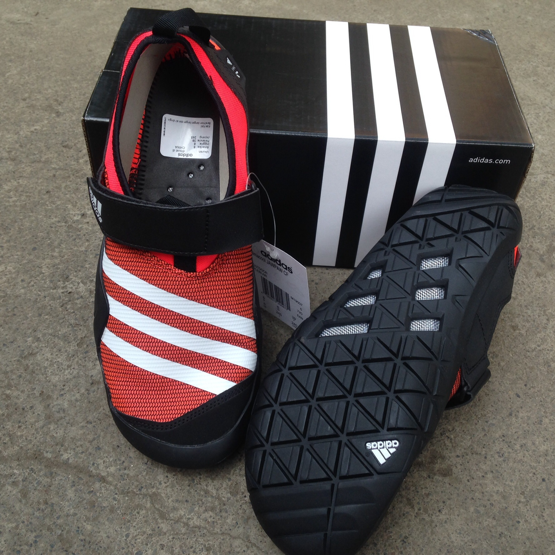 new style c26e8 a1716 adidas climacool jawpaw cf