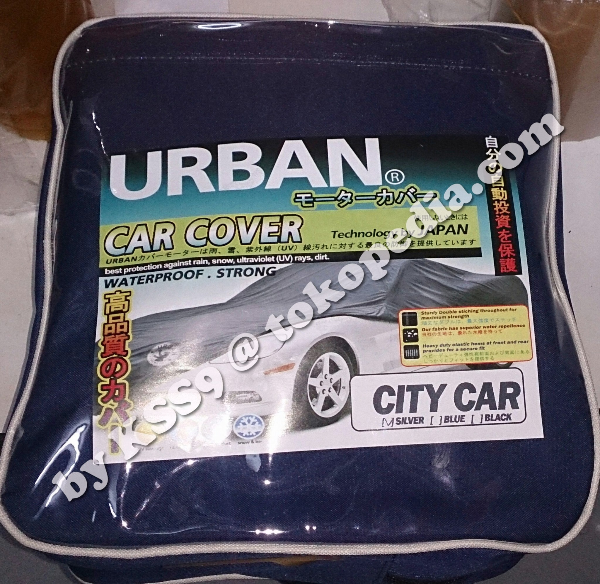 Bungkus Mobil / Body Cover Urban CITY CAR / HATCHBACK JAZZ AGYA SWIFT