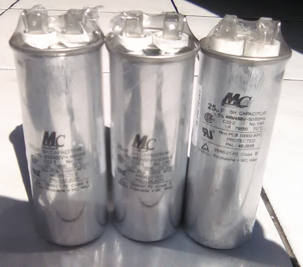 Jual Capasitor Ac 25uf Merk Mc Almer Teknik Tokopedia Kotak Kabel