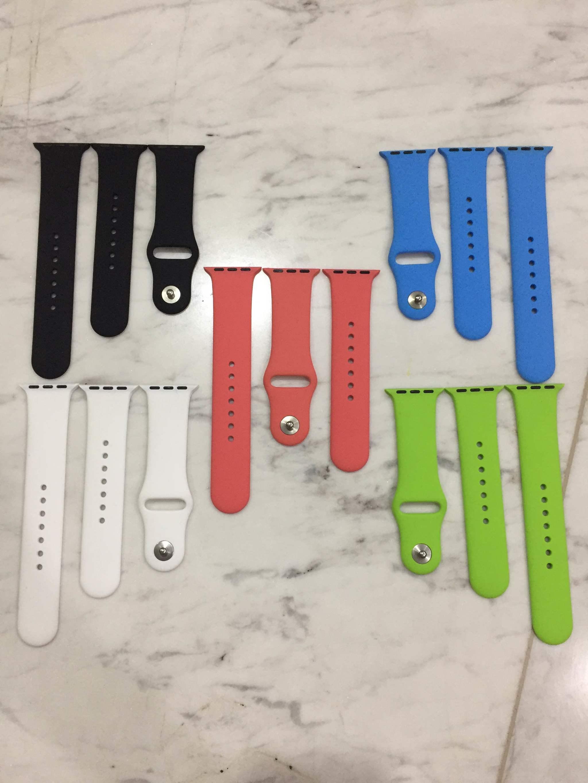 Apple Watch Sport Band 42mm 38mm Black Blue Green White Pink