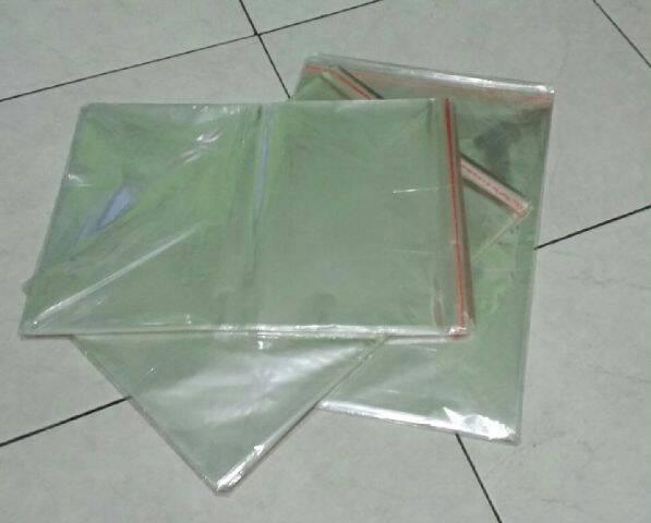 plastik opp seal hijab jilbab kerudung / pembungkus jilbab / kemasan