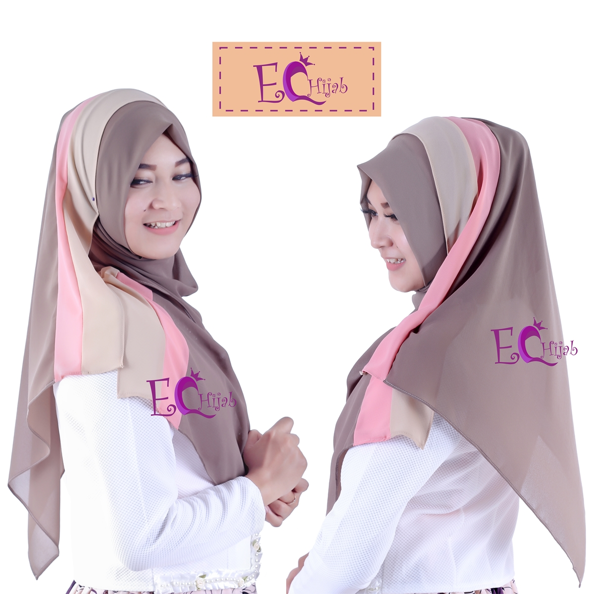 Hijab Pashmina Ice Cream