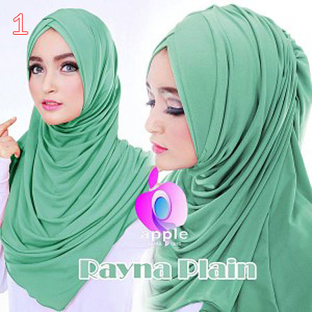 Hijab/Jilbab Apple Rayna Plain