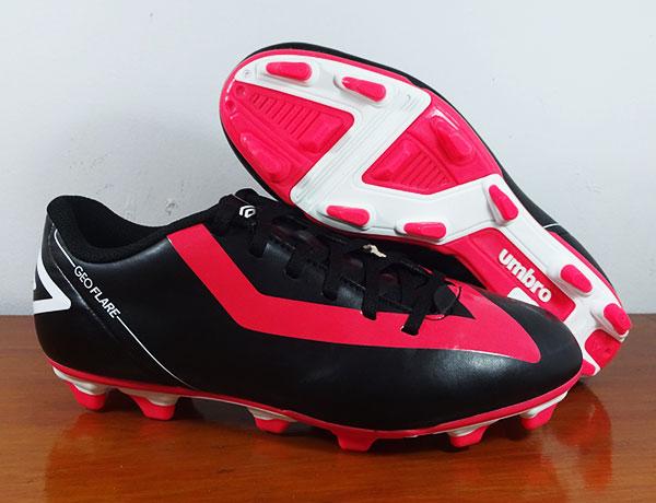 Sepatu Sepak Bola/Sepatu Bola Umbro Geoflare Shield FG Black ORIGINAL