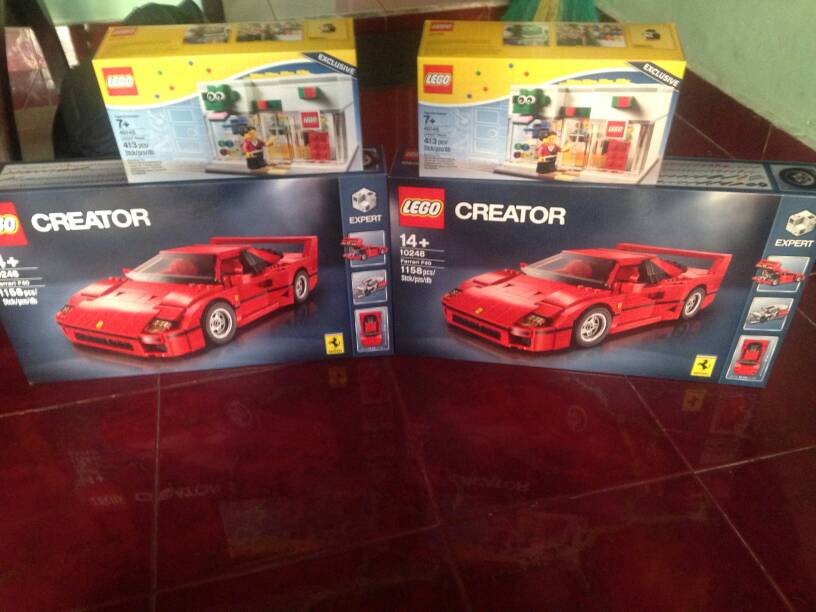 harga Lego ferrari f40 (10248) Tokopedia.com