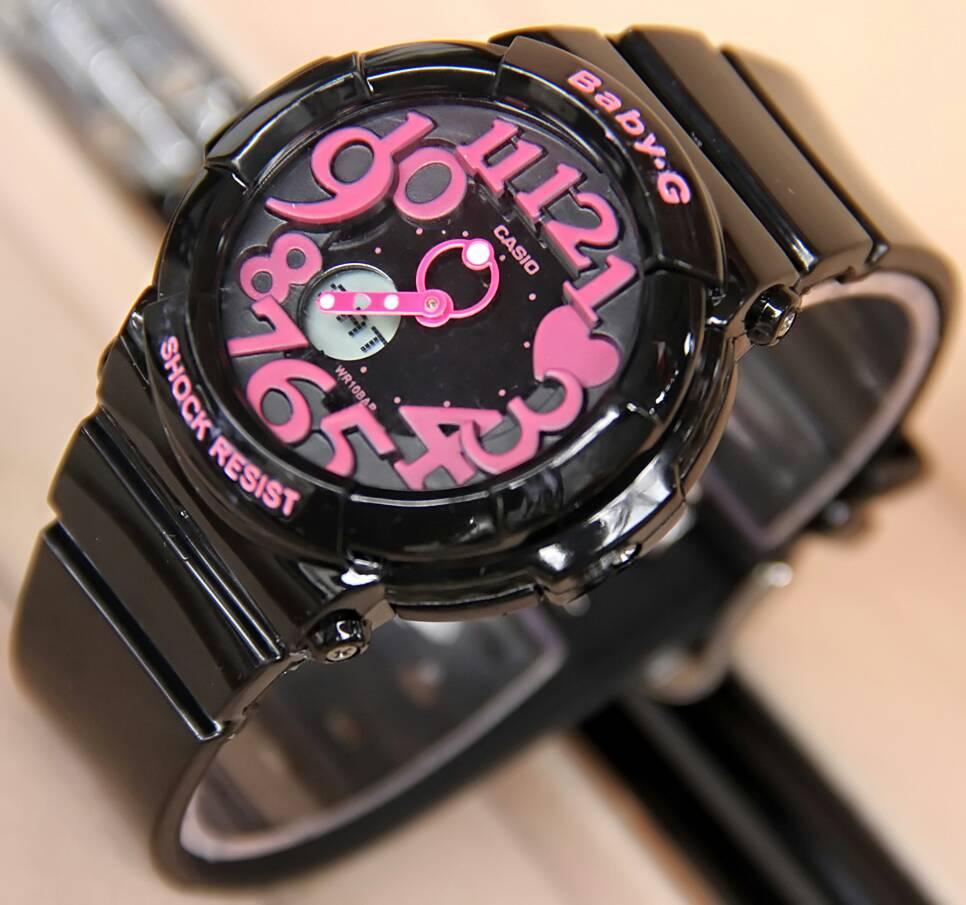 Jam Tangan Baby-G Sherina Black Pink