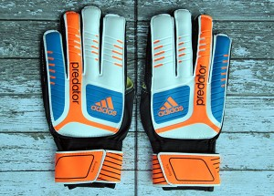 Sarung Tangan Kiper Adidas Predator Training Putih Orange
