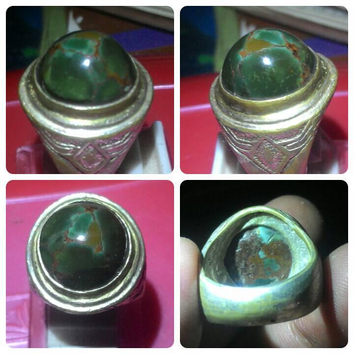 harga Batu Cincin Pirus hijau Persia Tokopedia.com