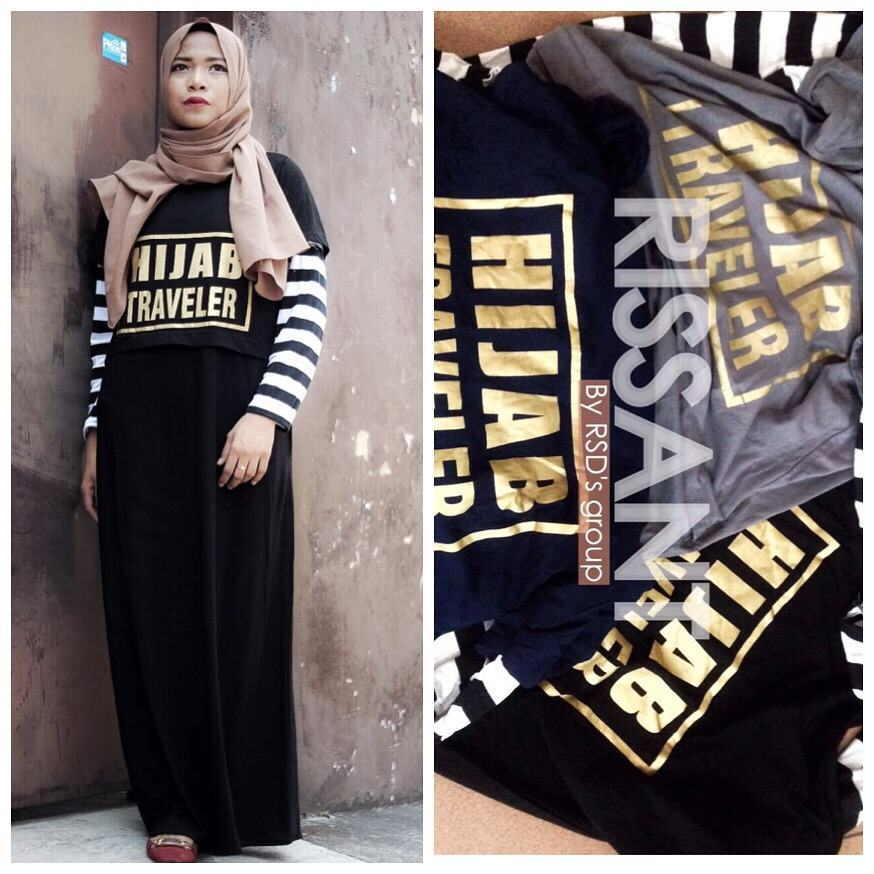BELLE SHOP SOLO: HIJAB TRAVELER DRESS / MAXY/ MAXI