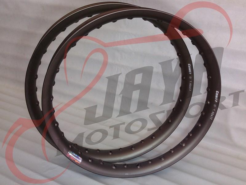 Velg COMET U-Shape Titanium Brown (1.40x17/1.60x17)