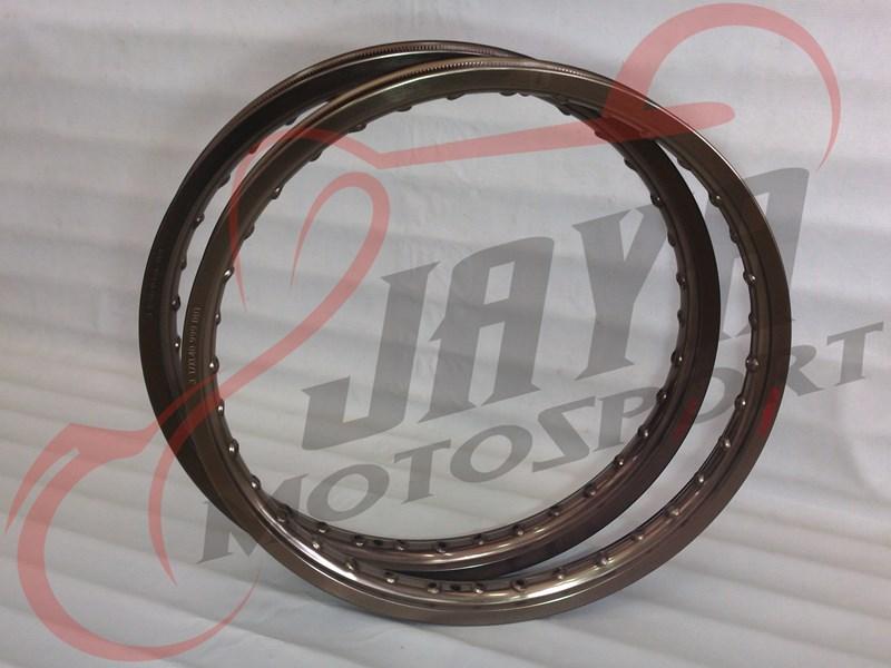 harga Velg COMET WM-Shape Titanium Brown (1.40x17/1.60x17) Tokopedia.com