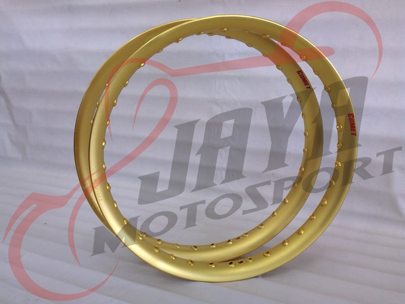 harga Velg COMET U-Shape Gold (1.40x17/1.60x17) Tokopedia.com