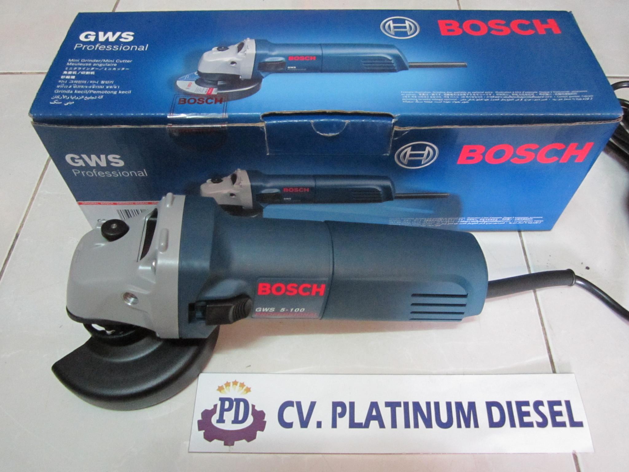 Harga Bosch Gws 5 100 Mesin Gerinda Tangan 4 Biru Indonesia Bot Source .