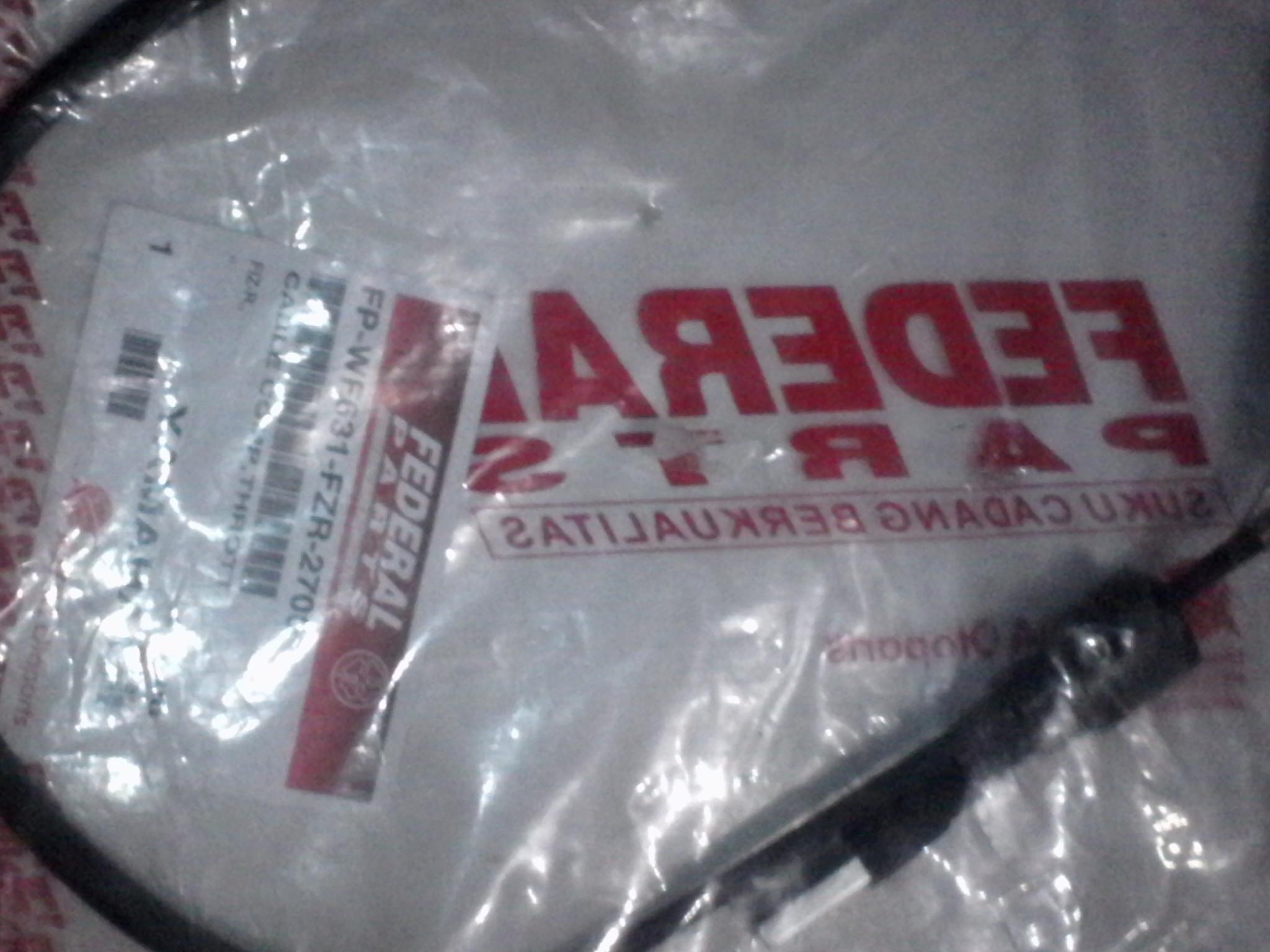 harga Kabel Kilometer Yamaha F 1 ZR Merk Federal Parts Tokopedia.com