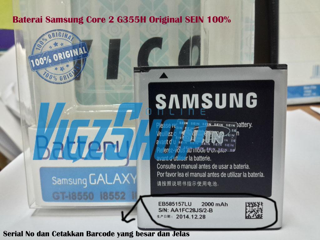 Jual Baterai Battery Samsung Galaxy Core 2 G355 Original