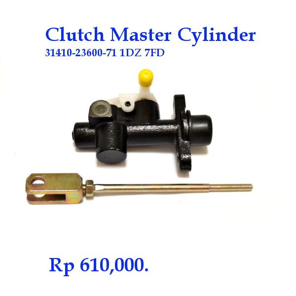 Clutch master cylinder Toyota Forklift 1DZ 7FD