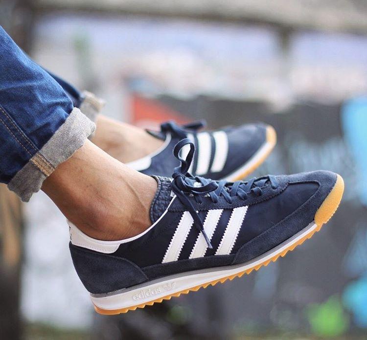 harga Sepatu Original Adidas Originals Classic SL 72 Gumsole Midnight Navy Tokopedia.com
