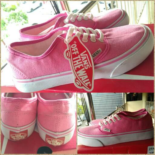6e1b85c6d9 Jual sepatu kets vans pink vans california pink vans authentic pink ...