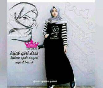 Hijab girl dress