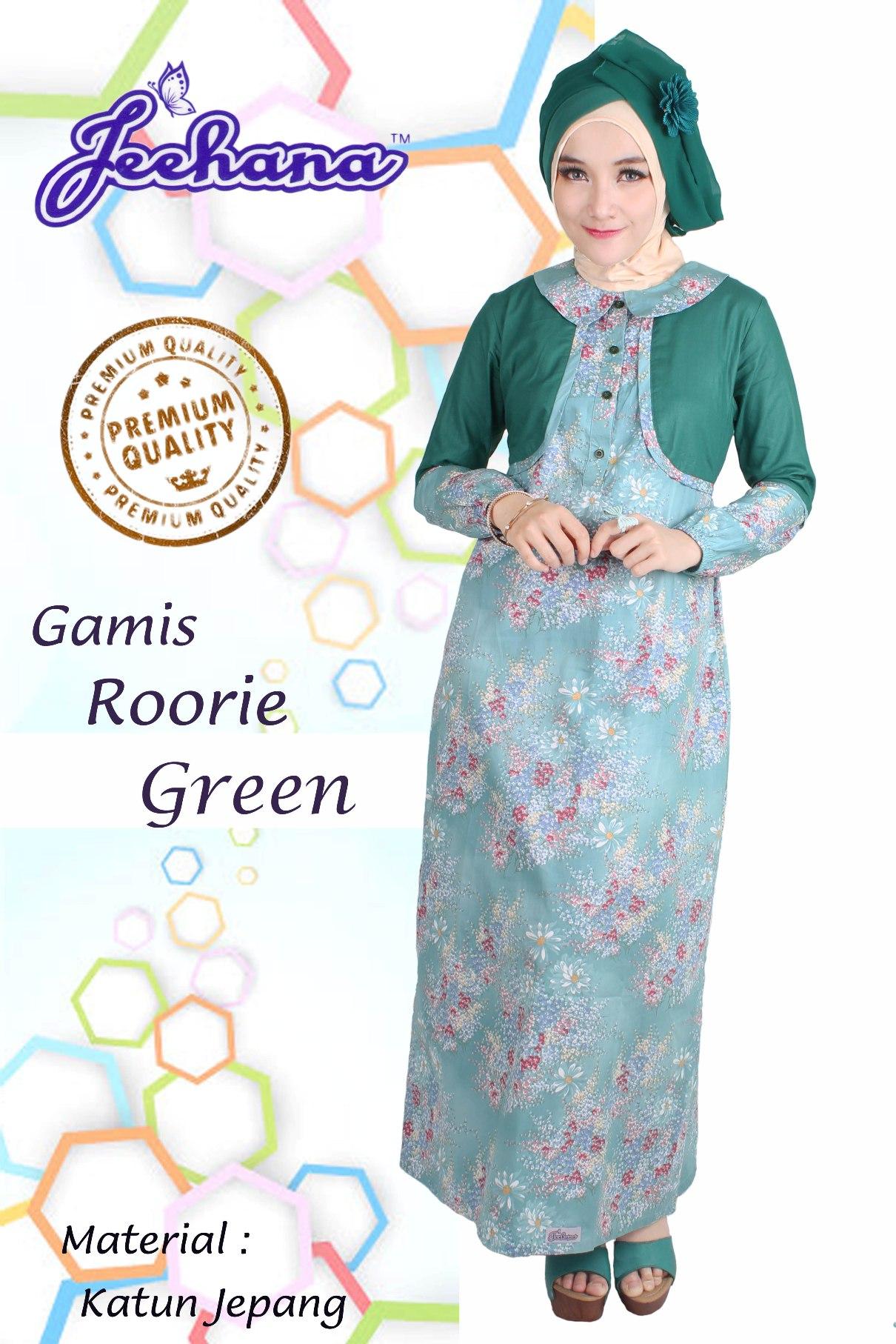 Jual GAMIS ROORIE Restock JEEHANA Gamis Anggun Baju Gamis Size S