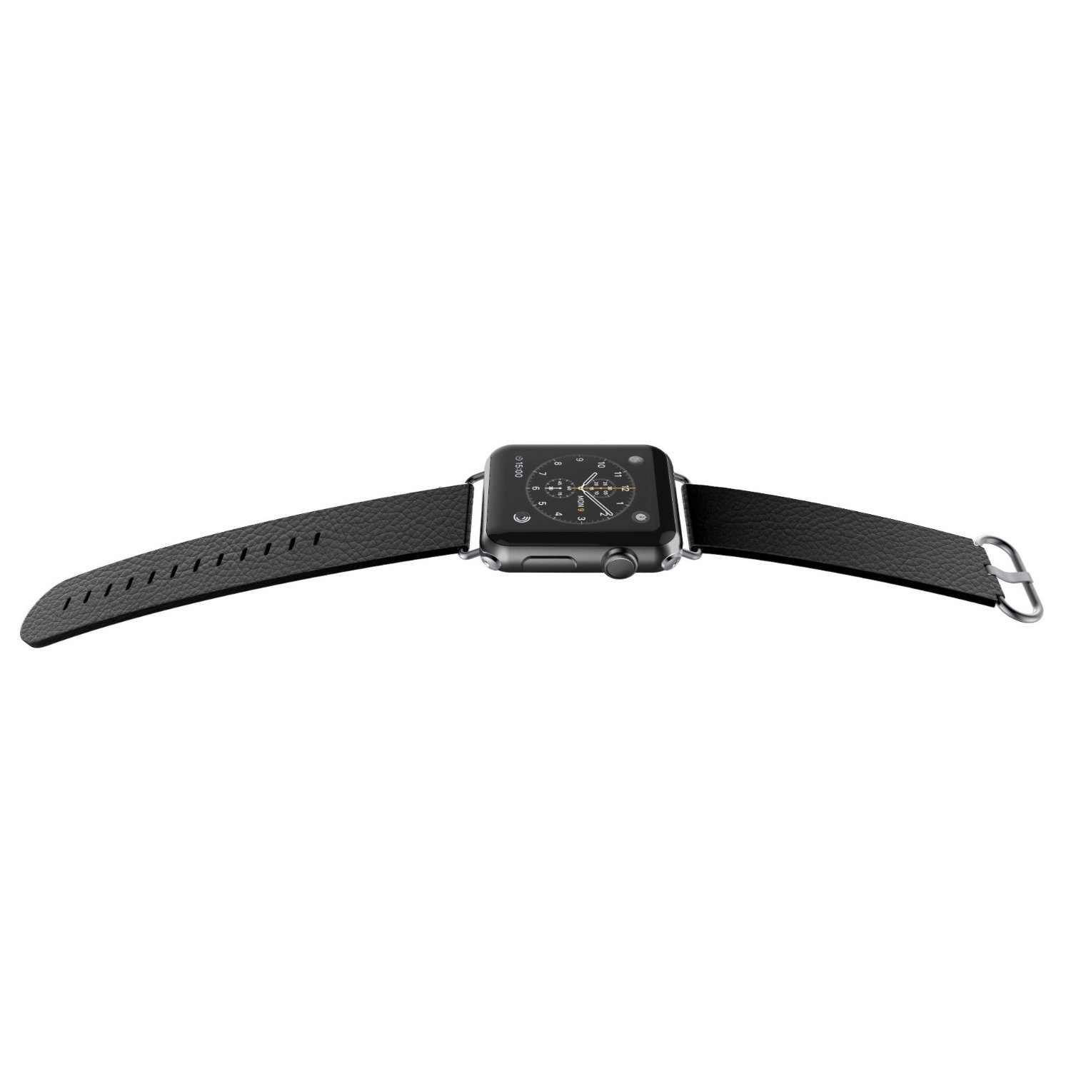 X-Doria - Apple Watch 42mm - Lux Band Leather  Hitam