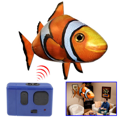 harga Air Swimmers Remote Control Flying Clownfish - Orange Tokopedia.com