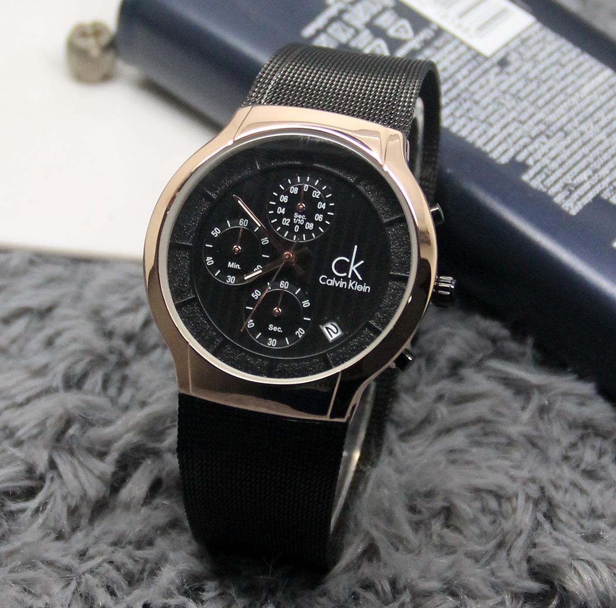 harga JAM TANGAN PRIA CK PASIR 20560 - BLACKROSE Tokopedia.com