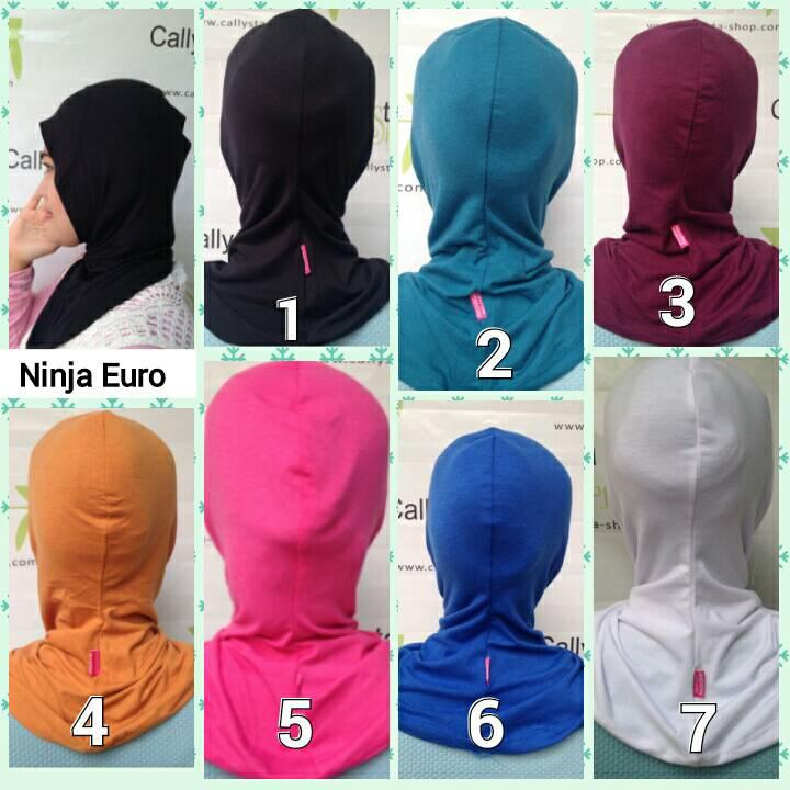Ninja Euro / Dalaman Rayon / Inner Hijab / Inner Euro / Ninja Kaos