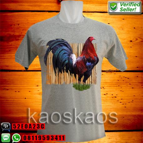 Kaos Ayam Bangkok Perkasa