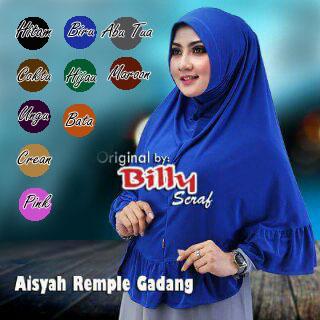Jilbab/ Hijab Aisyah Rempel