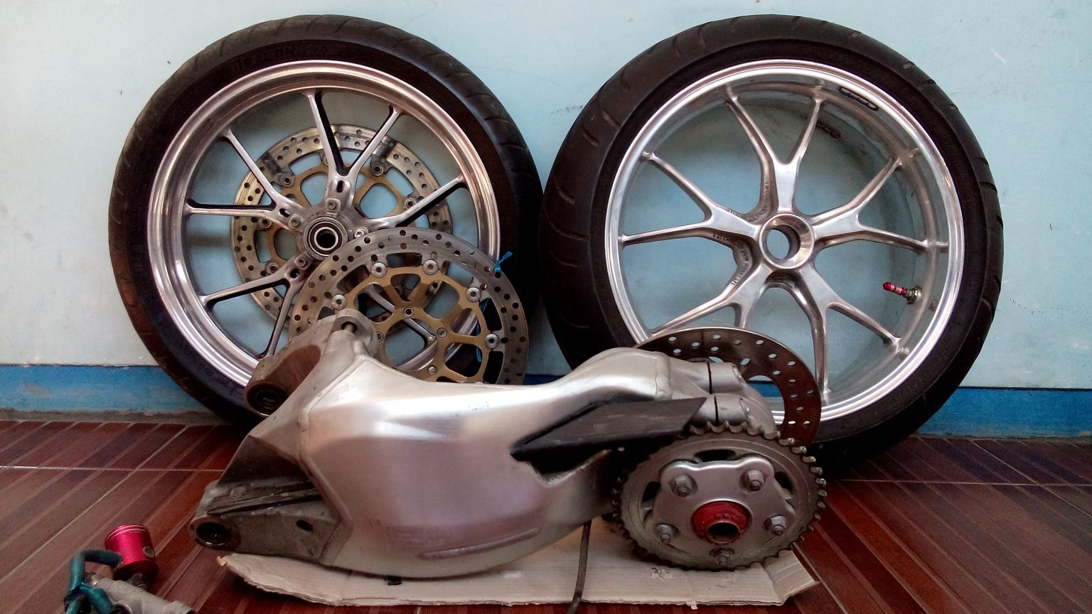 harga Pro Arm Limbah Moge Ducati 848 Tokopedia.com