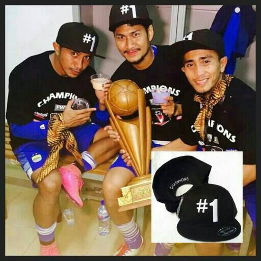 harga Topi Persib #1 champion Tokopedia.com