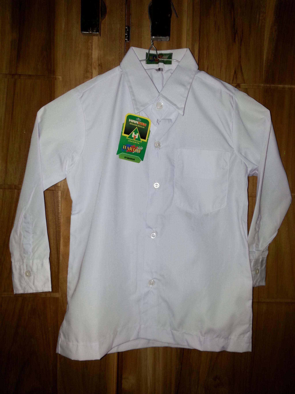 Jual No 3 Grosir Kemeja Baju Seragam Sekolah SD Panjang